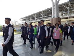 台鐵新5站啟用 總統宣示台鐵改革無上限