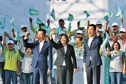 藍綠總統牌造勢 雙英戰桃竹