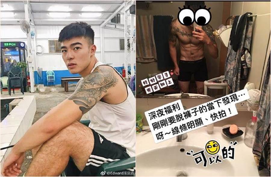 演出BL網劇都有不錯迴響的陳昊森,濃眉大眼也因像金城武,被朋友推薦試鏡,而進入演藝圈。(圖/翻攝自陳昊森臉書)