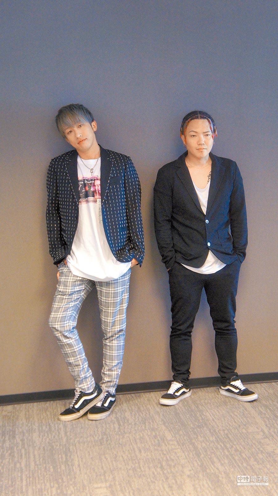 KENJI03(左)與MC TEEDA期望未來能與五月天合作。