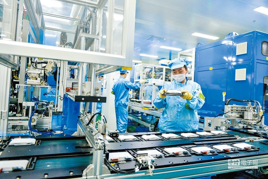 工業製造產業鏈拉長,判定生產地困難多。(CFP)