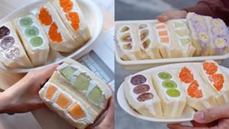 純正日本「水果吐司」!濃厚鮮奶油添加 細緻果肉甜度爆表