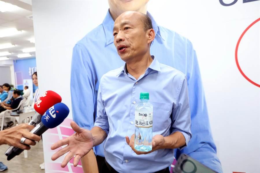 「韓國瑜現象」與其說是英雄造時勢,其實更像是時勢造英雄,就是因為高雄的施政和經濟出了許多的問題,才讓韓國瑜有機可趁!(本報資料照)