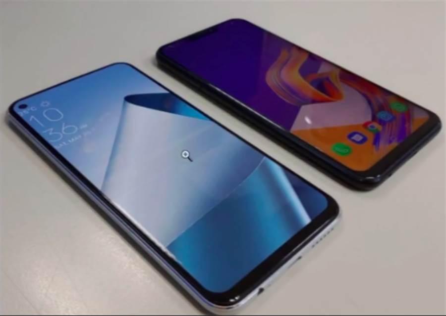 YouTube C4ETech 頻道曝光了幾款宣稱是華碩 ZenFone 6 原型機種的照片。(圖/翻攝YouTube)