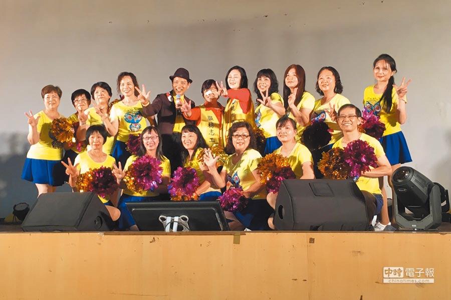 旺旺中時媒體集團每年全台巡迴舉辦公益演唱會,今年以「向全國志工致敬」為主題,28日在桃園市八德區陸光四村舉辦。(葉臻攝)