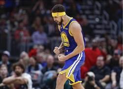 NBA》勇士痛宰公牛5連勝 克雷湯普生創兩紀錄