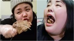 看她吃就很療癒!韓版渡邊直美「豪邁吃法」 大口撕肉、滿嘴塞飯跟著她一起流口水