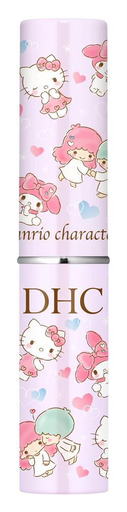 日系美妝DHC攜手三麗鷗 推限定版脣膏吸引美妝迷搶購