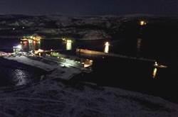 多災巨艦:俄航母維修浮動船塢沉沒現場圖曝光