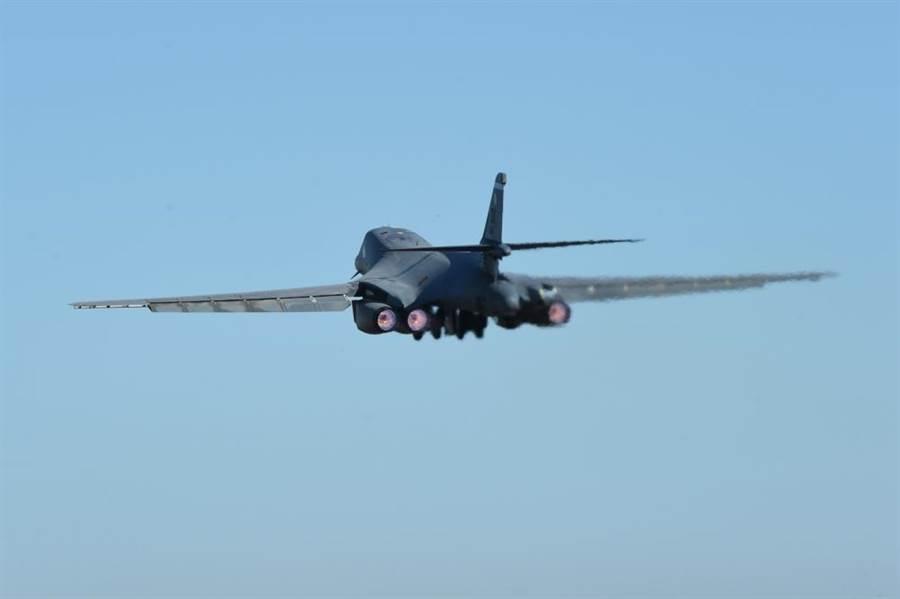 美國空軍B-1B將在B-21服役後陸續除役。(圖/美國空軍)