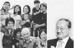 賈靜雯94歲外公辭世 竟巧合與金庸同天同歲