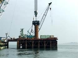 引進港珠澳大橋技術 交通部:金門大橋18支基樁完工