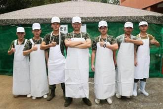 山隘行軍幕後英雄! 7人伙房班顧好全營300人的胃