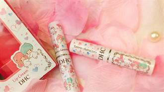 超可愛超萌!瘋搶超可愛的三麗鷗Hello Kittyx kiki lalax美樂蒂的聯名系列護唇膏,限時特價快去訂購