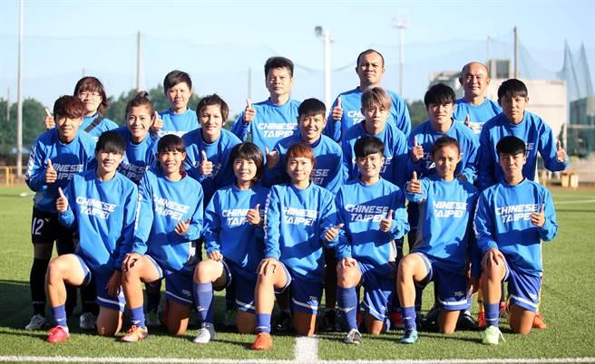 中華女足出征塔吉克參加奧運亞洲區資格賽。(李弘斌攝)