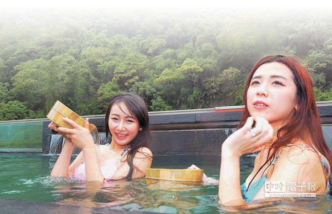 配合觀光局旅遊補助措施,現在來台東泡湯、旅遊最划得來。(莊哲權攝)