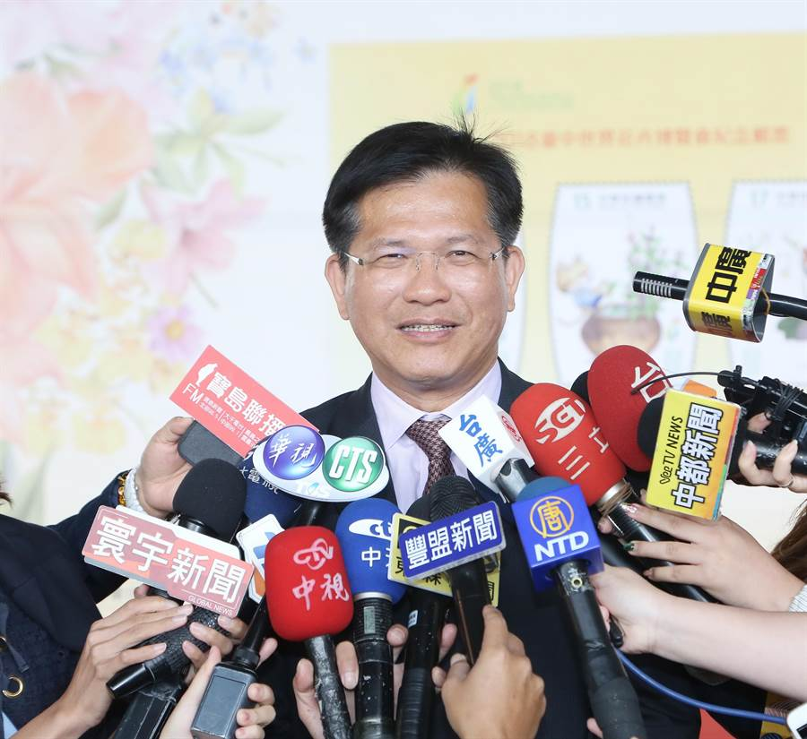 交通部長林佳龍。(資料照/盧金足攝)