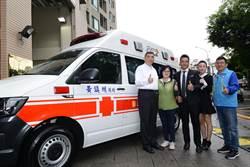 行善日常 黃鎮洲堅持初衷回饋社會4年捐2輛救護車