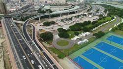 華中橋增設匝道完工 車輛可直上水源快速道路