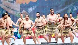 台中花博開幕晚會百公尺巨型舞台 全球5大洲聯演古今舞台劇
