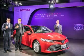 豐田中大型房車Camry全新第八代 再戰台灣市場