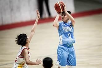 U18亞青女籃》中華不敵大陸 明和紐西蘭爭第五