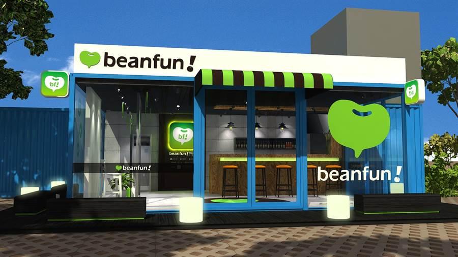 橘子集團於IeSF打造beanfun!House品牌概念館。(圖/橘子提供)