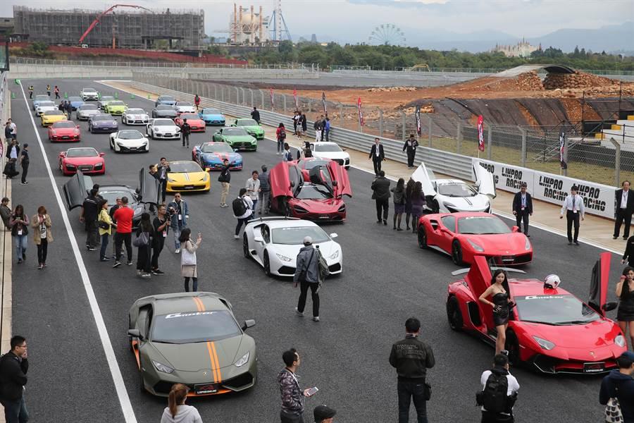 麗寶國際賽車場G2賽道全長3.5公里,全賽道共23個彎道。(黃國峰攝)