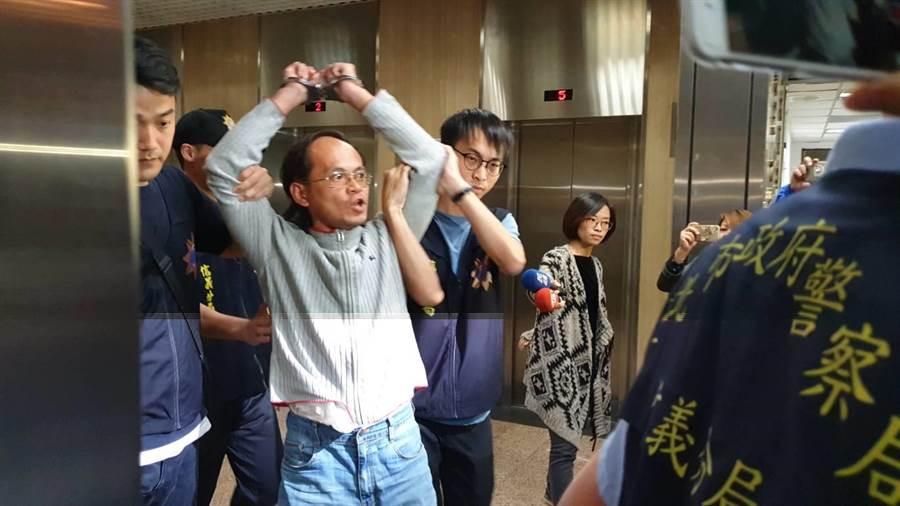 持鋼筋毆打勞動局長的李明彥,遭判刑三月。(中時資料照)