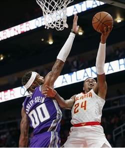 NBA》林書豪砍單季新高23分 老鷹狂輸國王31分