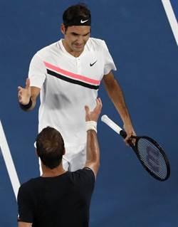 網球》法名將嘆:希望費德勒早點退休