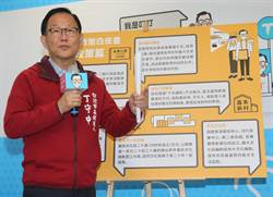 國民黨台北市長候選人丁守中推出政策白皮書文化篇