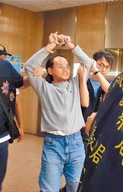 攻擊勞動局長李明彥裁准羈押 李:要絕食抗議