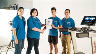 MIT健身器材攜手台灣最速男打開國際市場