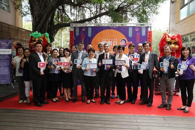 中興大學首度舉辦「興創日」 ,新創團隊熱鬧展成果。(圖/興大)