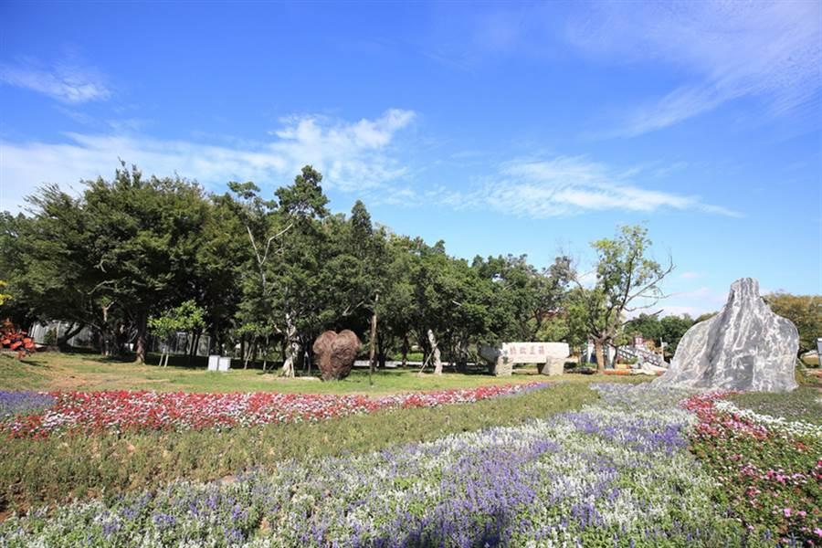 圖為台中世界花卉博覽會,豐原葫蘆墩園區綺想童話區主題「幸福花嫁」。(台中市政府提供)(中央社資料照)