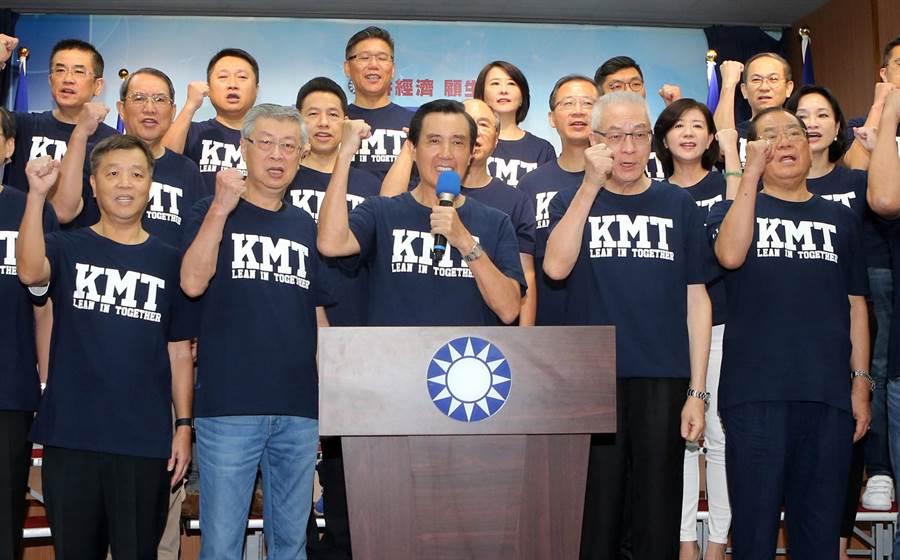 國民黨「2018中央助選團」。(圖/本報資料照,趙雙傑攝)