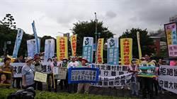 反對不當遷村 大林蒲居民到總統府前抗議