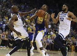 NBA》勇士三劍客豪取83分 主場擊退灰狼7連勝