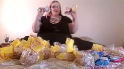 190公斤還不夠! 露點暴吃網紅立志成為世界最胖
