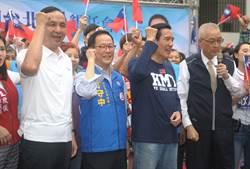 國民黨3日舉辦「2018贏回台北文山大安懇託會」