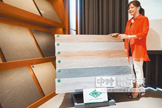 耐磨易清木紋磚 成裝修新寵