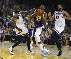 NBA》皮朋:勇士杜蘭特還沒出盡全力