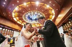 中華電信集團結婚 72對新人今共結連理