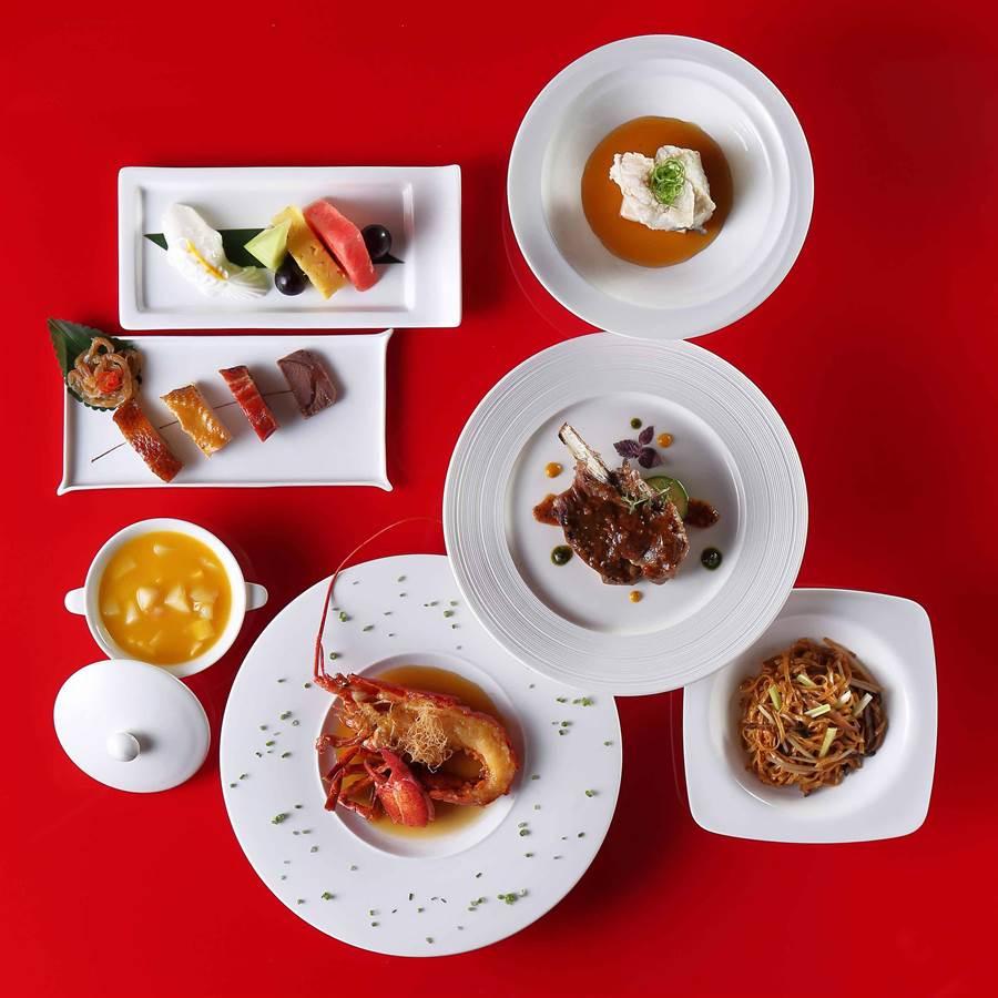 「雅月個人套餐」精選頂級波士頓龍蝦、石斑入饌,顛覆饕客味覺感受。(圖片提供/ Mega 50餐飲及宴會)