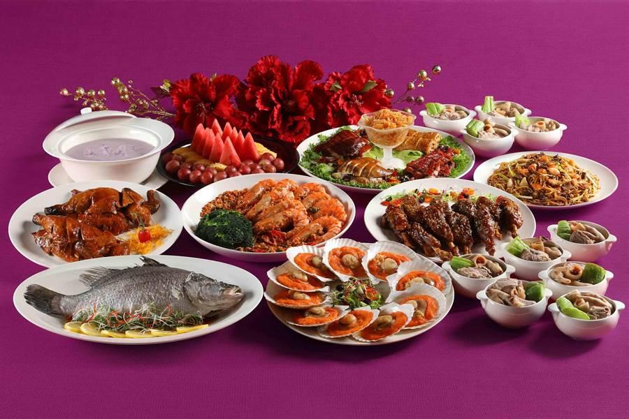 「丹桂十人桌菜」融合粵菜經典料理手法,美好滋味讓人難忘。(圖片提供/ Mega 50餐飲及宴會)