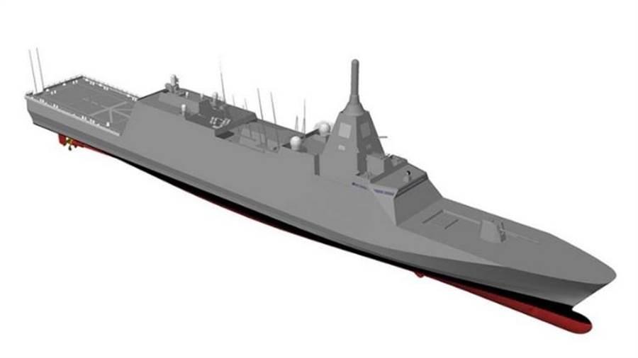 三菱重工將要建造3900噸的新一代多用途巡防艦,以巡邏與反水雷為主要功能。(國/三菱)
