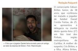 巴西球星斷頭血案 凶嫌說明犯案原因