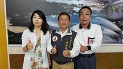台南》關心選情 日籍友人來台為市議員陳朝來打氣