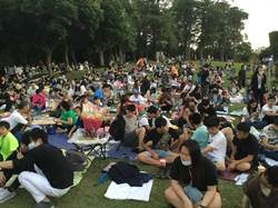 花young青春演唱會在豐樂雕塑公園舉行